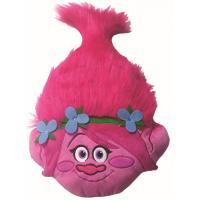 Vankúšik 3D Trollovia Poppy , Barva - Ružová