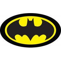 Vankúšik Batman 3D , Barva - Čierna