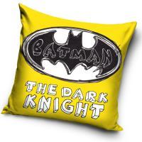 Vankúšik Batman The Dark Knight , Rozměr textilu - 40x40 , Barva - Žltá