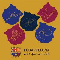 Vankúšik FC Barcelona champions , Velikost - 40x40