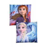 Polštářek Frozen Disney 2 , Barva - Modrá , Rozměr textilu - 40x40