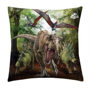 Polštářek Jurský Park T-Rex , Rozměr textilu - 40x40