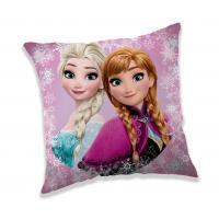 Polštářek Ledové Království , Rozměr textilu - 40x40 , Barva - Ružová