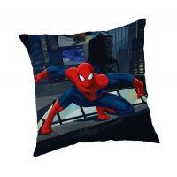Vankúšik Spiderman  , Barva - Tmavo modrá , Rozměr textilu - 40x40