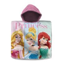 Pončo Princezné Ariela, Popoluška, Ruženka , Barva - Ružová , Rozměr textilu - 60x120