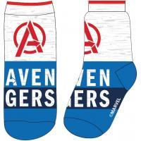 PONOŽKY AVENGERS , Velikost ponožky - 23-26 , Barva - Modro-šedá