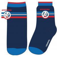 PONOŽKY AVENGERS , Velikost ponožky - 23-26 , Barva - Tmavo modrá