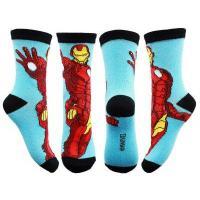 PONOŽKY AVENGERS , Barva - Čierna , Velikost ponožky - 35-36