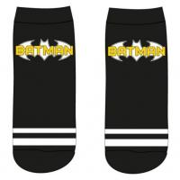PONOŽKY BATMAN , Velikost ponožky - 39-42 , Barva - Čierna