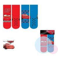 Ponožky Cars 2ks , Barva - Modro-červená , Velikost ponožky - 23-26