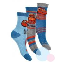 Ponožky Cars 3ks , Velikost ponožky - 23-26