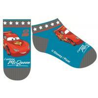 Ponožky Cars - členkové , Velikost ponožky - 31-34 , Barva - Modrá