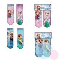 Ponožky Frozen 2ks , Velikost ponožky - 23-26 , Barva - Barevná