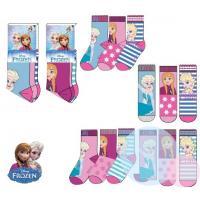 Ponožky Frozen 3ks , Velikost ponožky - 31-34