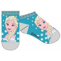 Ponožky Frozen - kotníčkové , Barva - Tyrkysová , Velikost ponožky - 31-34