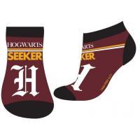 PONOŽKY HARRY POTTER , Velikost ponožky - 23-26 , Barva - Vínová