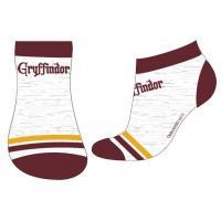 PONOŽKY HARRY POTTER , Velikost ponožky - 23-26 , Barva - Šedo-červená