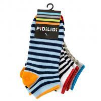 Ponožky kotníčkové 3ks , Velikost ponožky - 27-30 , Barva - Barevná