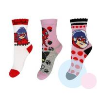 PONOŽKY KÚZELNÁ LIENKA 3ks , Barva - Barevná , Velikost ponožky - 23-26