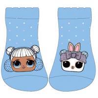 PONOŽKY LOL Surprise , Velikost ponožky - 23-26 , Barva - Modrá