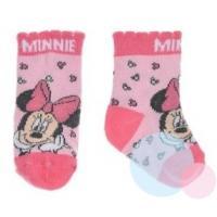 PONOŽKY MINNIE baby , Velikost ponožky - 0-6 měsíců