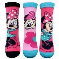 Ponožky Minnie , Barva - Ružová , Velikost ponožky - 27-30