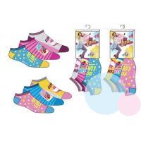 PONOŽKY SOY LUNA 3ks , Velikost ponožky - 23-26