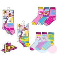 Ponožky Soy Luna 3ks , Velikost ponožky - 27-30