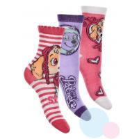 Ponožky Paw Patrol 3ks , Barva - Barevná , Velikost ponožky - 31-34