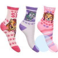 Ponožky Paw Patrol 3ks , Barva - Barevná , Velikost ponožky - 27-30