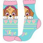 Ponožky Tlapková Patrola SKYE , Velikost ponožky - 27-30 , Barva - Tyrkysová