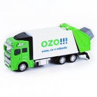Popelářský vůz OZO !!! , Barva - Zelená