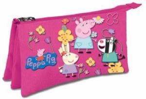 POUZDRO TŘÍKOMOROVÉ  PRASÁTKO PEPPA PIG , Barva - Ružová