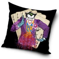 Povlak na vankúš Batman Arkham Asylum Joker , Barva - Čierna , Rozměr textilu - 45x45