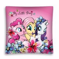 Povlak na polštářek My Little Pony , Barva - Ružová , Velikost - 40x40