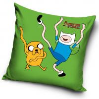 Povlak na vankúšik Adventure Time , Barva - Zelená , Velikost - 40x40