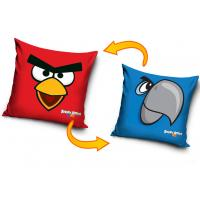Povlak na vankúšik Angry Birds , Barva - Modro-červená , Velikost - 40x40