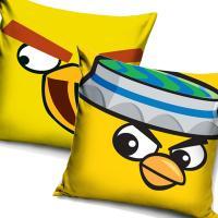 Povlak na vankúšik Angry Birds , Barva - Žltá , Velikost - 40x40