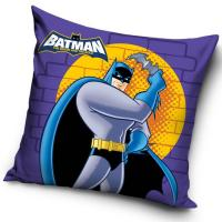 Povlak na vankúšik Batman Wall , Barva - Fialová , Rozměr textilu - 40x40