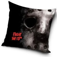 Povlak na polštářek Friday The 13th , Barva - Čierna , Rozměr textilu - 40x40