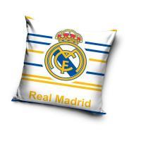 Povlak na vankúšik Real Madrid prúžky , Velikost - 40x40