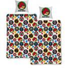 Obliečky Angry Birds Get , Barva - Barevná , Rozměr textilu - 140x200