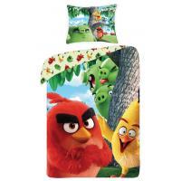 Obliečky Angry Birds vo filme red , Barva - Barevná , Rozměr textilu - 140x200