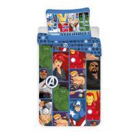 Povlečení Avengers , Barva - Barevná , Rozměr textilu - 140x200