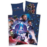 Povlečení Avengers  Endgame , Rozměr textilu - 140x200 , Barva - Modrá
