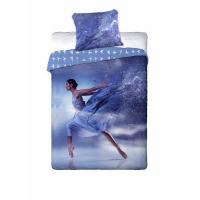 Obliečky Baletka , Barva - Modrá , Rozměr textilu - 140x200