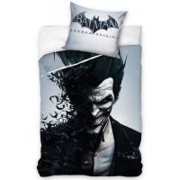 Obliečky Batman Arkham Joker , Barva - Šedá , Velikost - Uni
