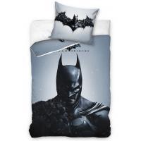 Obliečky Batman Arkham Origins , Rozměr textilu - 140x200 , Barva - Šedá