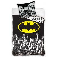 Obliečky Batman Shield Of Gotham , Barva - Čierna , Rozměr textilu - 140x200