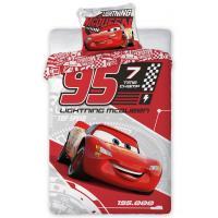Obliečky Cars 3 Blesk McQueen , Barva - Červená , Rozměr textilu - 140x200